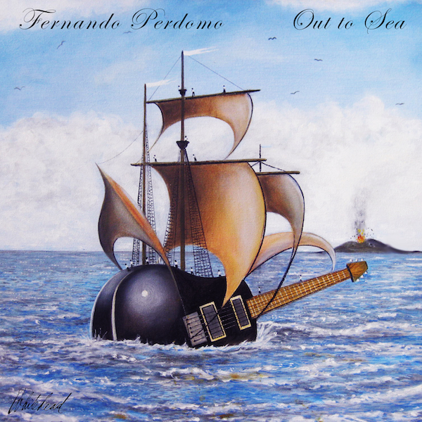 Fernando Perdomo Out To Sea Cover By Paul Whitehead