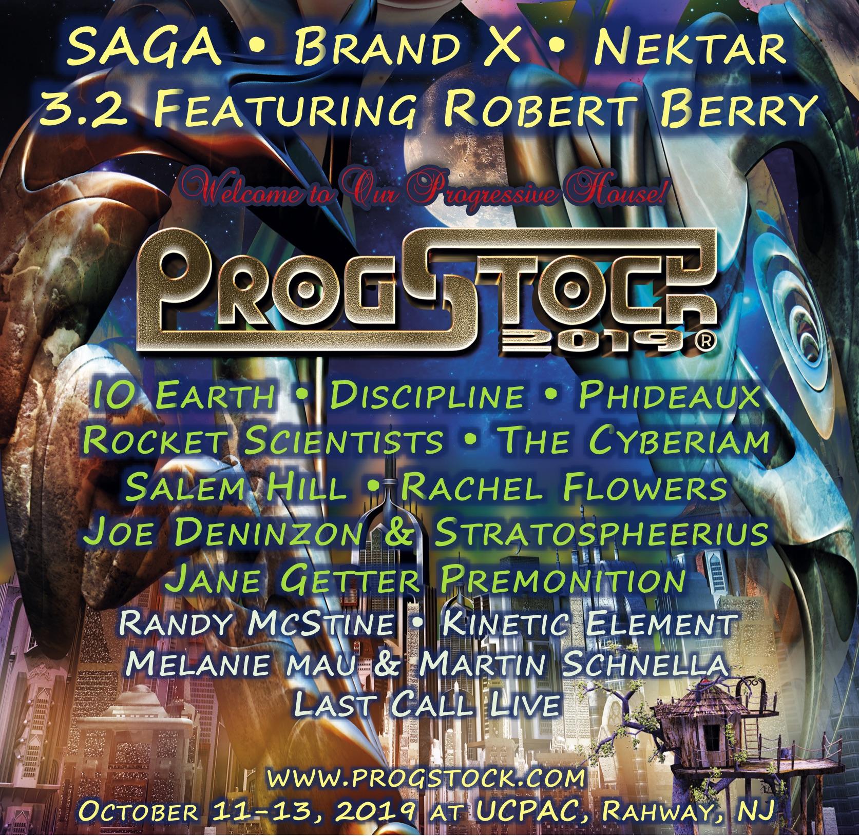 ProgStock 2019 Lineup