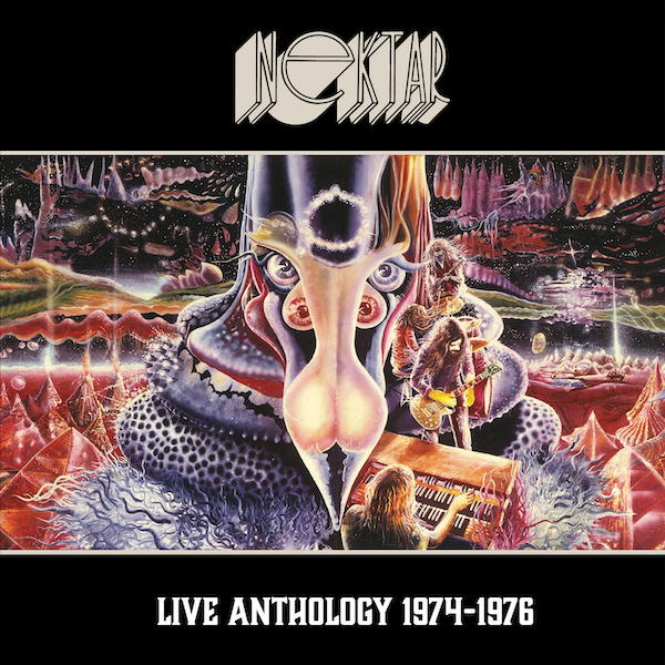 Nektar Live Anthology 1974-1976 Cover