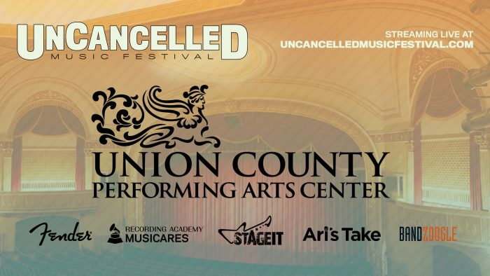 UCPAC Virtual Stage for UnCancelled Music Festival