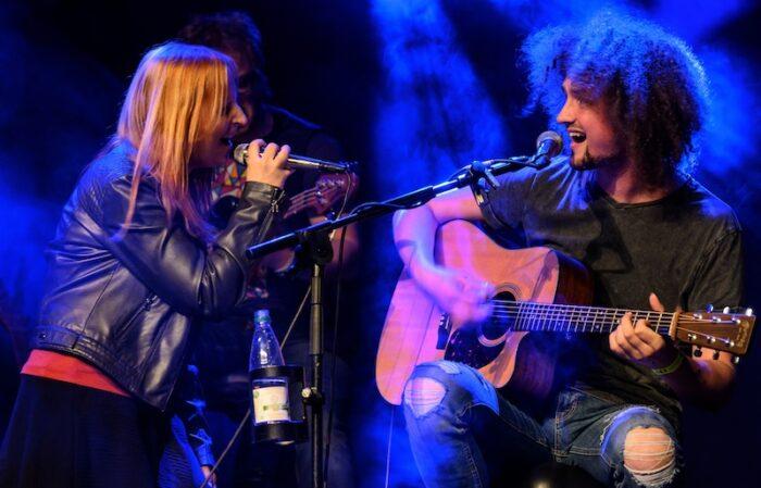 Melanie Mau und Martin Schnella, Artrock 2020